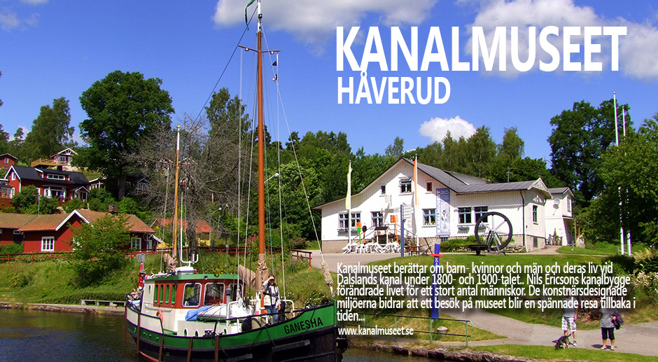 Kanalmuseet i Håverud, 20 juni 2012.