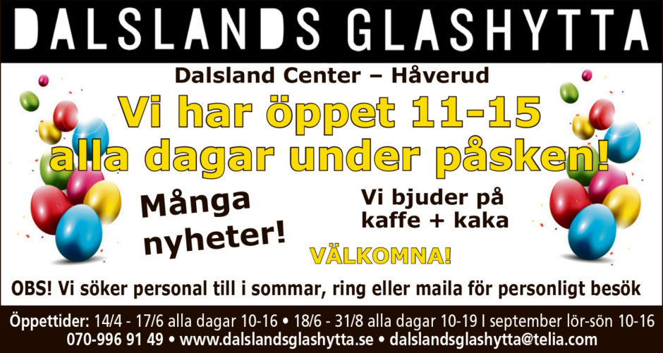 dalslands glashytta
